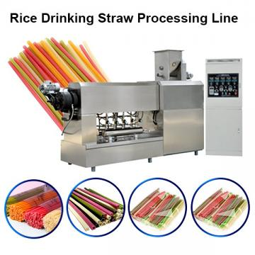 High output biodegradable PLA drinking straw extruder