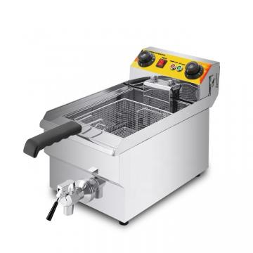 2016 Stainless Steel Deep Electric Fryer with Valve W/Ce (WF-161V)