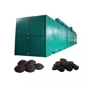 Industrial Continuous mesh belt hemp biomass drying machine